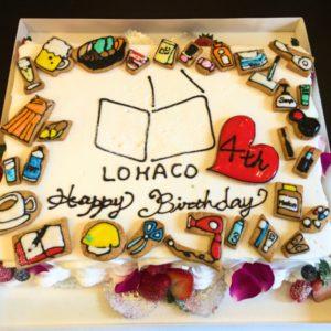 通販LOHACO様からご注文・オーダー頂いたオリジナルケーキ