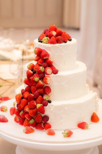 ケーキ ウェディング